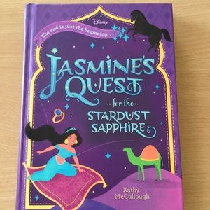 Disney Jasmine's Quest for Stardust Sapphire book